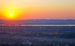 Sunset View from Mandalay Hill